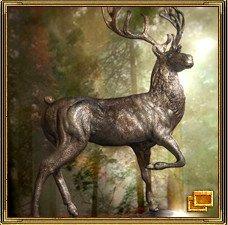 Олень - символ богатства и долголетия
