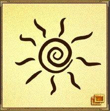Солнце - символ высшей космической силы, всемогущества, дарит тепло и радость