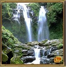 Водопад используется для привлечения удачи в дом