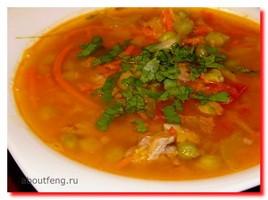 Супы из томатов