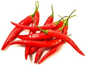 Связка красного сушеного перца