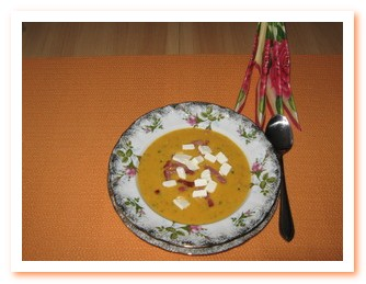 Супы с брынзой