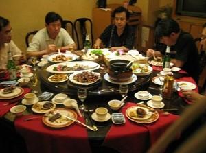 китайское застолье