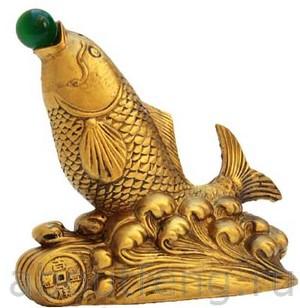 фэн-шуй рыба для привлечения богатства