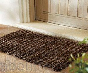 Выбираем коврик для входной двери дома