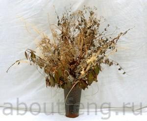 можно ли держать сухие цветы в доме