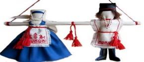 Обережные куклы: куклы-неразлучники