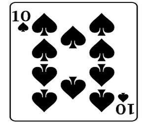 Игральные карты — эффективный талисман. Пики