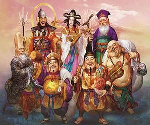 семь богов счастья японии
