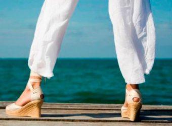 Как избежать проблем в уходе за летней обувью