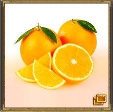 Апельсины - символы изобилия (золотой цвет) и удачного замужества