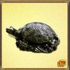 Черепаха означает леность, медленность, непорочность и чистоту. Это одно из четырех небесных созданий, которые считаются священными животными. Это символ долгой жизни, силы, небесной поддержки, стабильности, защиты, мудрости и долголетия. Она ассоциируется с севером и зимой. Те люди, кто хочет прожить долгую здоровую жизнь, держат у себя дома черепах