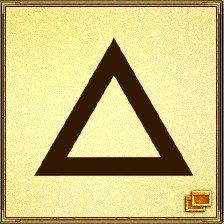 Треугольник - это воплощение силы пирамид; он представляет связь с силами тела, разума и духа, а также единство матери, отца и ребенка, прошлого, настоящего и будущего. Это символ Святой Троицы. Треугольник обладает защитными свойствами