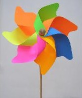 Ветряная вертушка — заряжаемся позитивом
