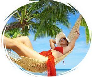 Уход за кожей и волосами во время отдыха на море
