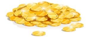 куриная монета для привлечения денег