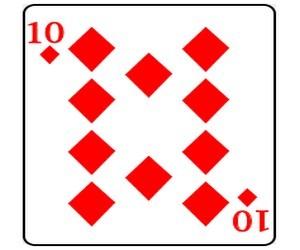 игральные карты бубны