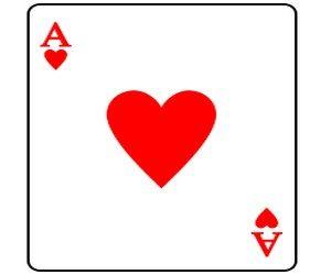 Игральные карты — эффективный талисман. Червы