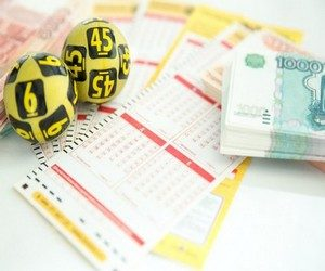 На удачу в лотерее